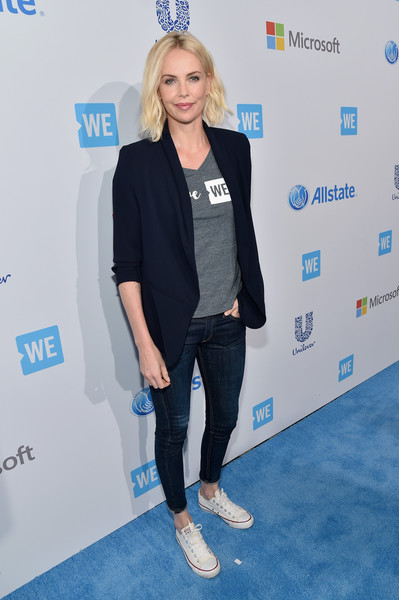Charlize Theron Skinny Jeans