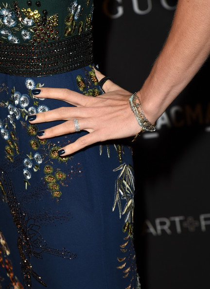 Charlotte Casiraghi Diamond Ring [lacma art film gala,cobalt blue,clothing,dress,nail,electric blue,yellow,fashion,hand,joint,waist,quentin tarantino,barbara kruger,charlotte casiraghi,fashion detail,lacma,los angeles,california,gucci,red carpet]