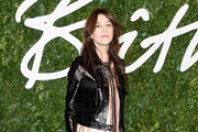 Charlotte Gainsbourg Leather Jacket