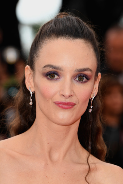 Charlotte Le Bon Ponytail [hair,face,eyebrow,hairstyle,lip,skin,beauty,chin,eyelash,forehead,red carpet arrivals,charlotte le bon,blackkklansman,screening,cannes,france,cannes film festival,palais des festivals]