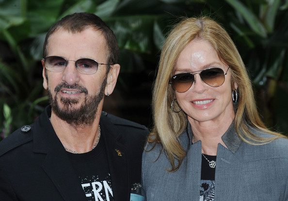 More Pics of Barbara Bach Fitted Jacket (2 of 5) - Outerwear Lookbook - StyleBistro [eyewear,hair,face,sunglasses,glasses,people,blond,cool,facial hair,hairstyle,ringo starr,barbara bach,press,press,london,england,royal hospital chelsea,vip,chelsea flower show]