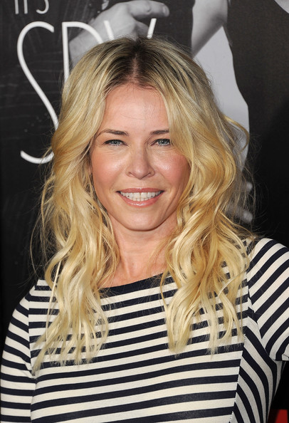 Chelsea Handler Long Wavy Cut