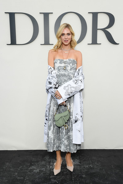 Chiara Ferragni Strapless Dress