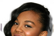 China Anne Mcclain Twisted Bun