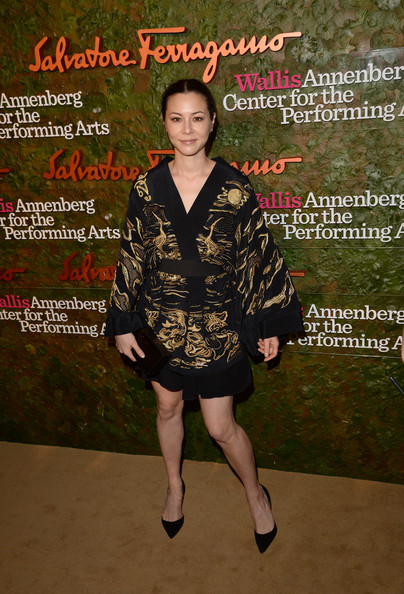China Chow Wrap Dress
