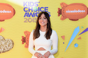 Chloe Bennet Crop Top