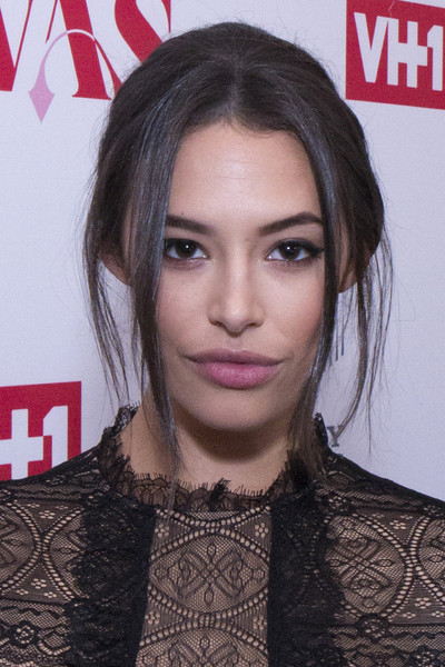 Chloe Bridges Beehive [daytime divas,hair,face,hairstyle,eyebrow,lip,chin,forehead,black hair,long hair,brown hair,chloe bridges,whitby hotel,new york city,vh1,premiere event,vh1 daytime divas premiere event]