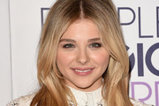 Chloe Grace Moretz Long Center Part