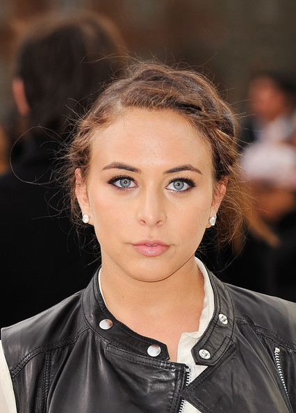 Chloe Green Braided Updo