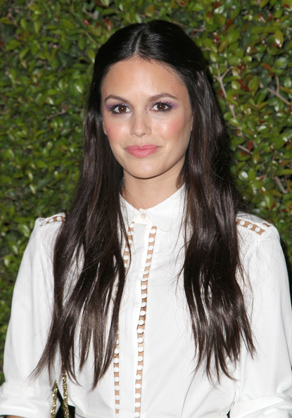 Rachel Bilson fixed her flowy locks in a half-up half-down style for the Chloe LA fashion show and dinner.