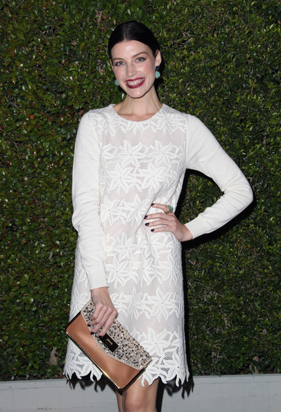 More Pics of Jessica Pare Studded Clutch (1 of 3) - Jessica Pare Lookbook - StyleBistro