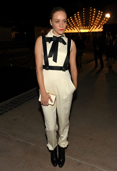 Chloe Sevigny High-Waisted Pants