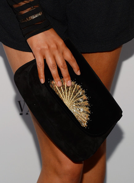 Chrissy Teigen Beaded Clutch