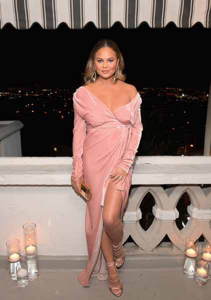 Chrissy Teigen Wrap Dress
