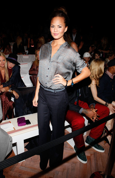 Chrissy Teigen Button Down Shirt