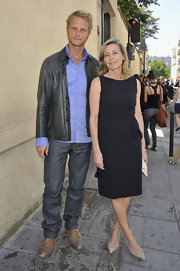 Clair Chazal's LBD couldn't be a chicer go-to for fashion week.