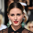 Olivia Palermo's Golden Apple Red Lipstick
