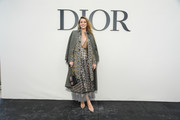 Blake Lively rocked not one but two Dior coats during the label's Spring 2019 show.