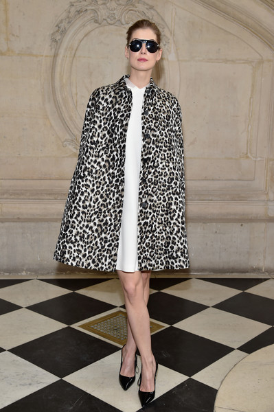 Rosamund Pike at Christian Dior