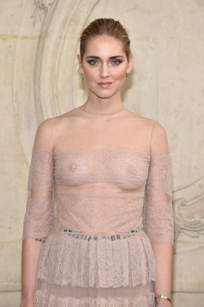 More Pics of Chiara Ferragni Sheer Dress (1 of 2) - Dresses & Skirts Lookbook - StyleBistro