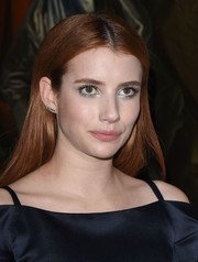 Emma Roberts opted for a simple straight style when she attended the Christian Dior Cruise show.