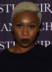 Cynthia Erivo sported her signature bleached curls when she attended the 'Dresses to Dream About' book release.