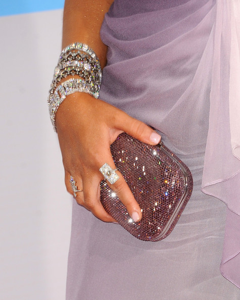 Christina Aguilera Sequined Clutch