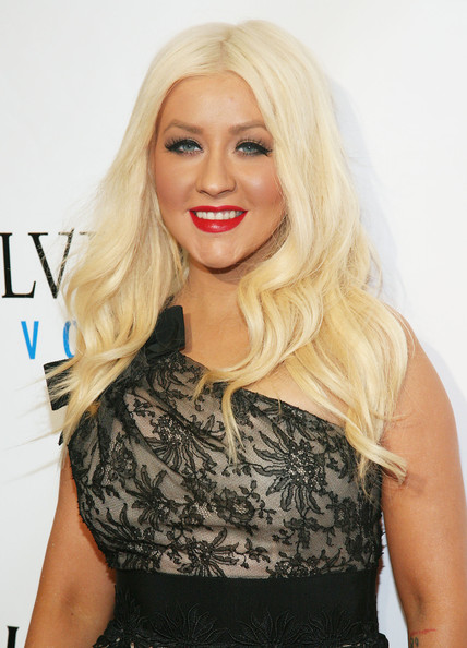 Christina Aguilera False Eyelashes