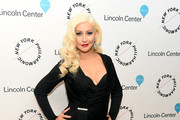 Christina Aguilera Wrap Dress