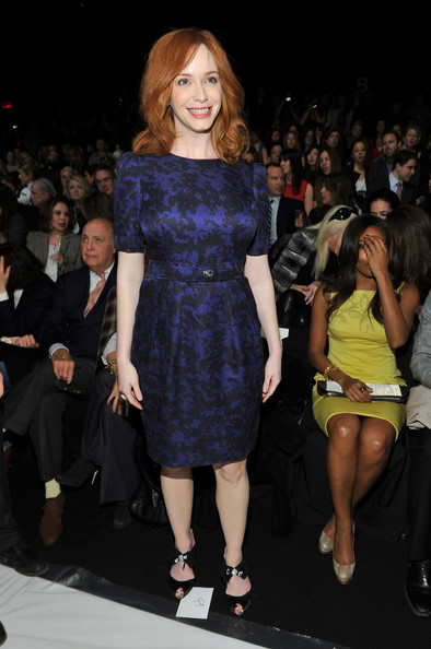 Christina Hendricks Cocktail Dress