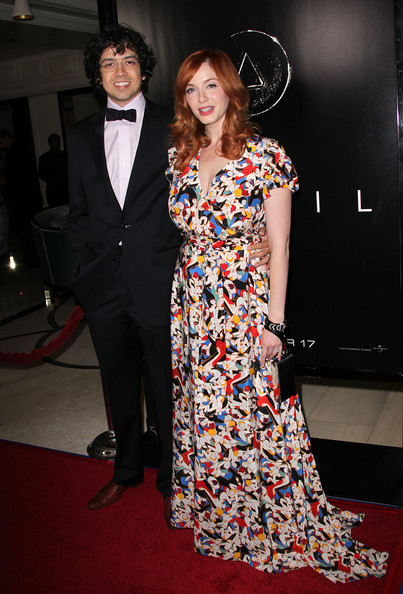 Christina Hendricks Maxi Dress