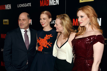 Christina Hendricks Elisabeth Moss 'Mad Men' New York Special Screening