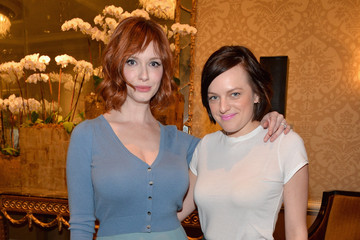 Christina Hendricks Elisabeth Moss Cocktail Reception at the AFI Awards