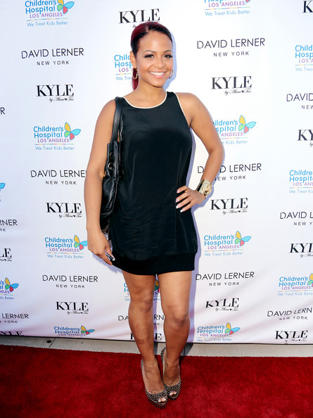 Christina Milian Mini Dress
