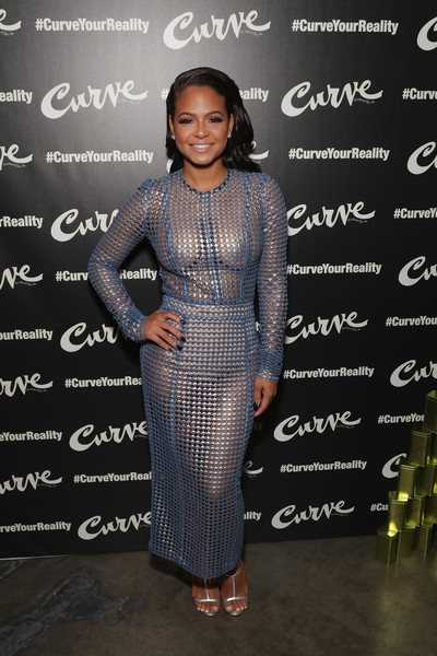 Christina Milian Sheer Dress [clothing,dress,fashion,fashion design,cocktail dress,carpet,flooring,fashion model,fashion show,event,christina milian,actress,singer/songwriter,grammy,curveyourreality campaign launch for curve fragrances,new york city,lightbox,curve fragrances curveyourreality campaign launch event]