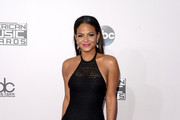 Christina Milian Halter Dress