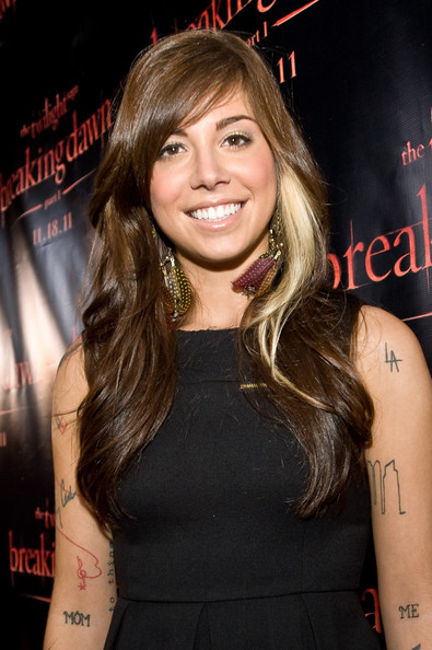 Christina Perri Hair