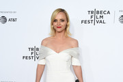 Christina Ricci Off-the-Shoulder Dress