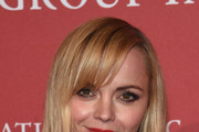 Christina Ricci Red Lipstick