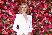 Christine Baranski Metallic Clutch