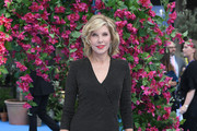Christine Baranski Wrap Dress