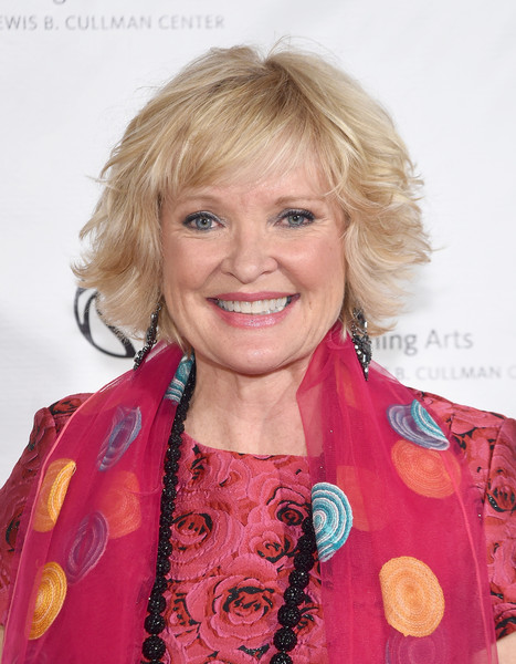 Christine Ebersole Layered Razor Cut [hair,blond,hairstyle,chin,premiere,feathered hair,smile,fashion design,new york public library for the performing arts 50th anniversary gala,the new york public library for the performing arts 50th anniversary gala,stephen a. schwarzman building,new york city,the new york public library,christine ebersole]