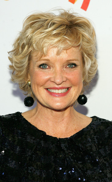 Christine Ebersole Layered Razor Cut [hair,blond,hairstyle,face,chin,eyebrow,lip,feathered hair,ringlet,smile,glaad amplifier awards,altman building,new york city,christine ebersole]