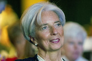 Christine Lagarde Berry Lipstick
