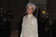 Christine Lagarde Skirt Suit