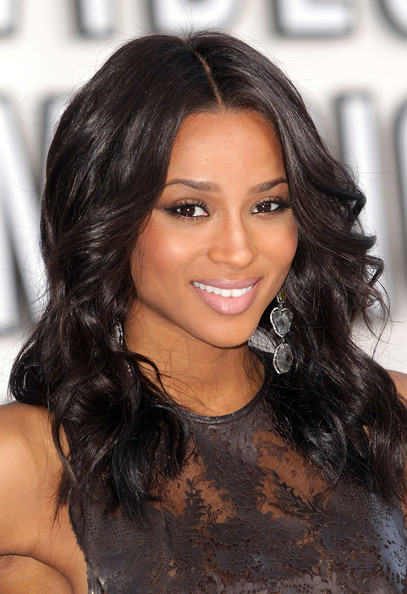 Singer Ciara arrives at the 2010 MTV Video Music Awards at NOKIA Theatre ...