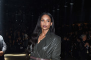 Ciara Leather Coat