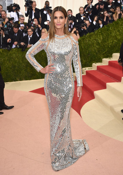 Cindy Crawford Sequin Dress