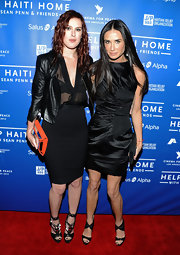 We spotted Demi Moore in this cute little black dress while she was out with her daughter Rumer Willis.