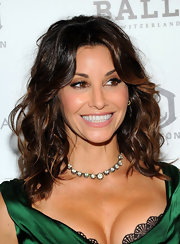 Gina Gershon glammed up her look with a stunning diamond tennis necklace at the 'Killer Joe' screening.